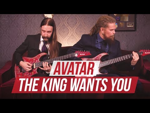 """Avatar - """"The King Wants You"""" Playthrough at Guitar World"""