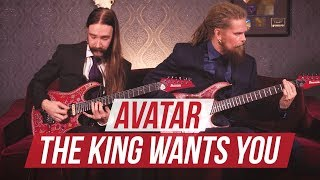 "Avatar - ""The King Wants You"" Playthrough at Guitar World"
