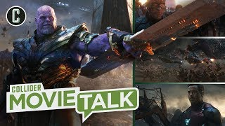 Avengers: Endgame Re-Release Footage Review - Movie Talk
