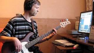 Денис Майданов - Осторожно, любовь (bass cover)