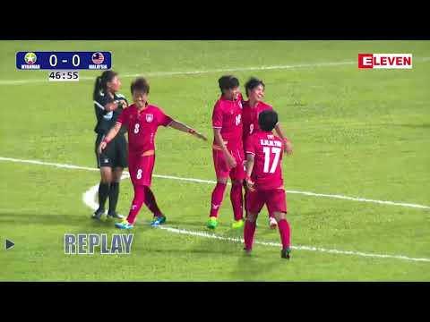 Myanmar 5-0 Malaysia ( Football(Women) , Highlights ) (29th Sea Games)