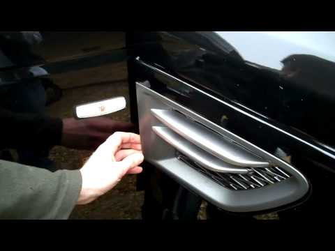 How To Remove Side Vents On Range Rover Sport 2010 On