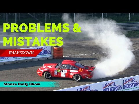 Monza Rally Show 2015 - Shakedown: Problems, Mistakes & Great Moments!
