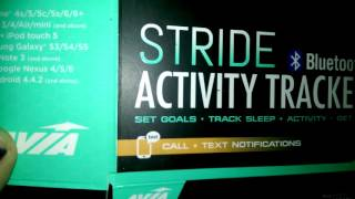 avia stride activity tracker 2