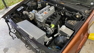 homepage tile video photo for RHD K24 Nissan Cefiro Build pt.18 The best work I've ever done.