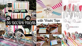 56 Decor ideas with washi tape