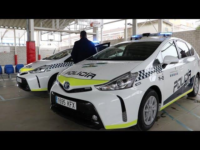VÍDEO: La Policía Local de Lucena estrena cuatro vehículos