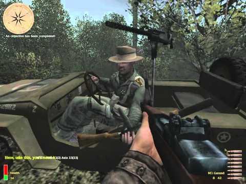Medal Of Honor: Allied Assault Breakthrough - Airfield At Caltagirone (Part 6) [Walkthrough]