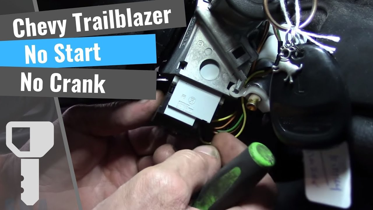 Chevrolet Trailblazer: No Start, No Crank