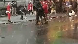 Santacon fight!