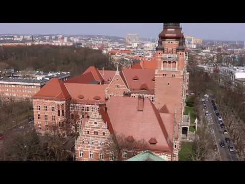 Wieża widokowa na Muzeum Narodowe w Szczecinie