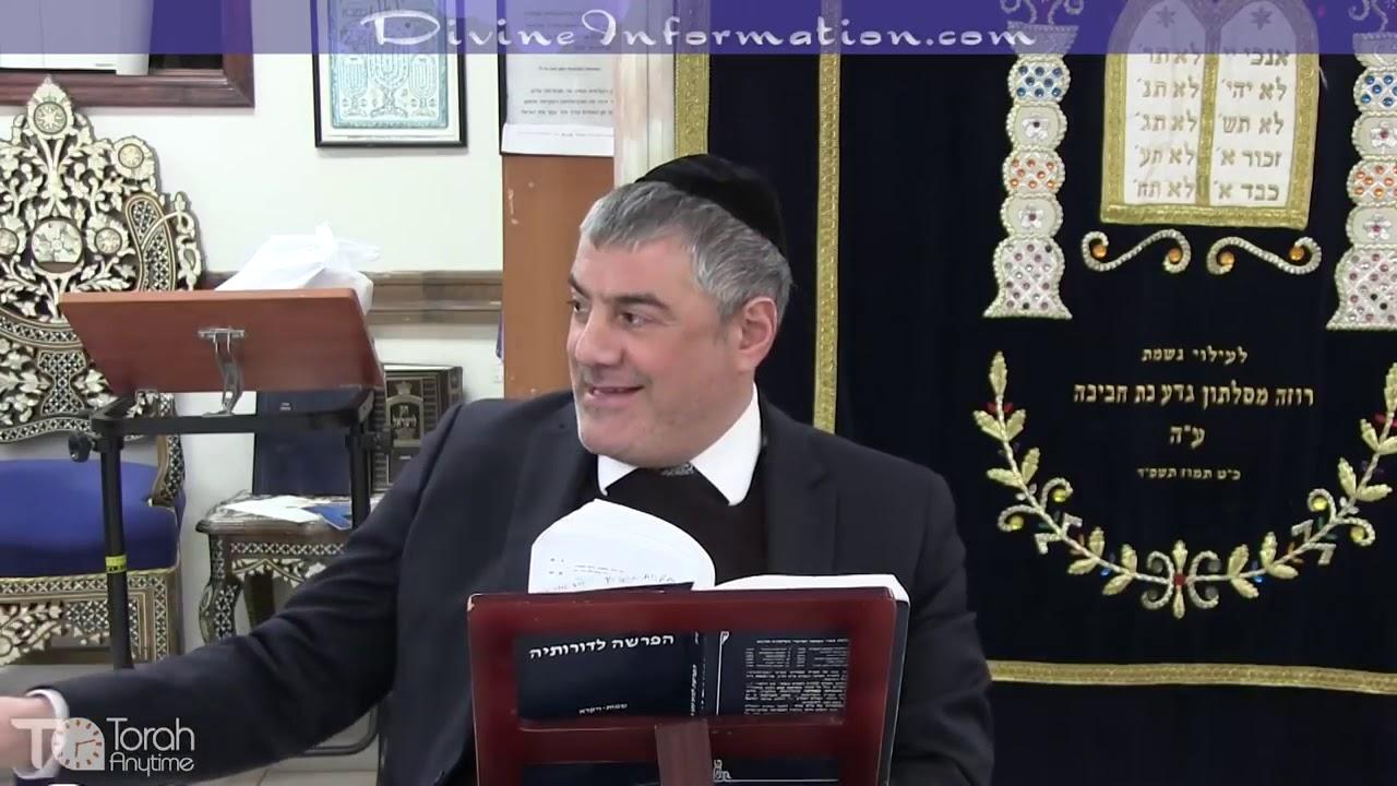 Rabbi Mizrachi - Parasha Mishpatim - Parasha Series #18