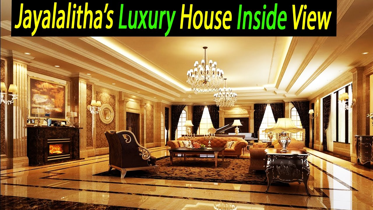 Shocking video tn cm jayalalitha house pictures luxury for Inside house photos