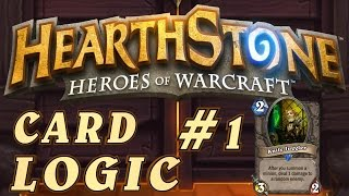 Hearthstone Card Logic Episode #1 - Knife Juggler Funny Moments