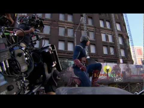 Captain America and Thor interview for The AVENGERS