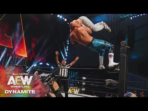 Who Won the First Ever TNT Championship Lumberjack Match? | AEW Dynamite, 10/28/20