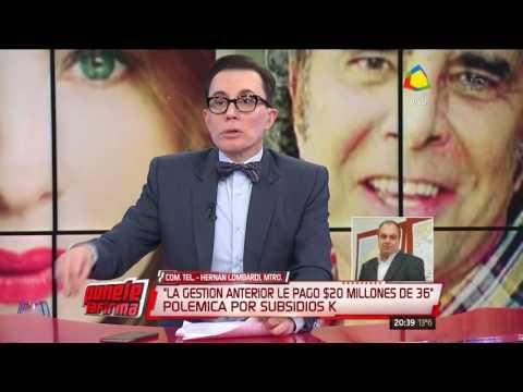 Hernán Lombardi habló de la polémica novela de Del Boca con fondos del estado
