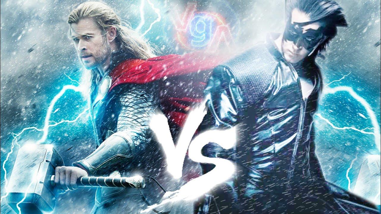Krrish Vs Thor (Epic Fan Made Trailer) - YouTube