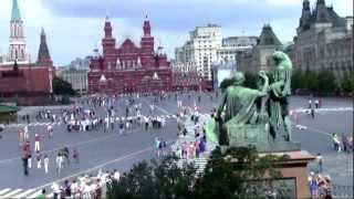 LA PLAZA ROJA DE MOSCU RUSIA
