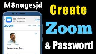 How to Create Zoom Account & Password
