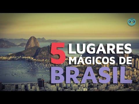 5 lugares mágicos de Brasil