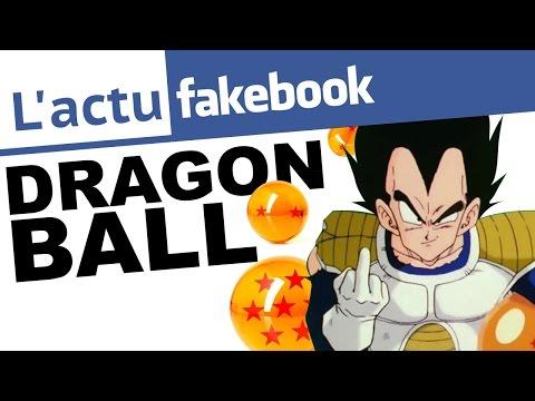 DRAGON BALL Sur Facebook