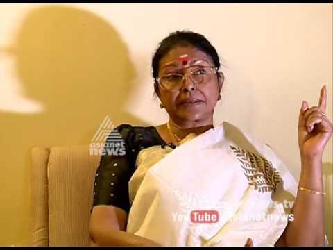 Actress Sharada remembering Jayalalithaa
