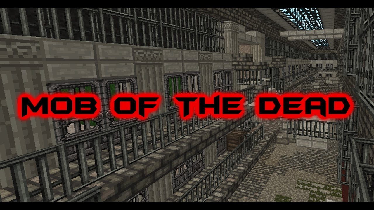 Minecraft Mob The Dead Zombie Map Update 1