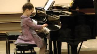 Фортепиано. Яна Пузанкова, 6 лет