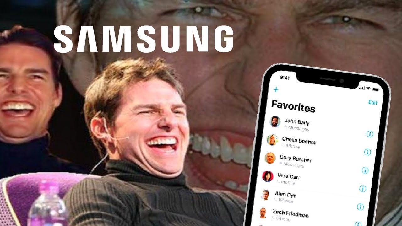 Funny Memes For Iphone : Samsung mocks apple and the iphone youtube