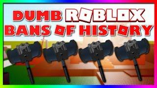 Dumme ROBLOX Verbote der Geschichte
