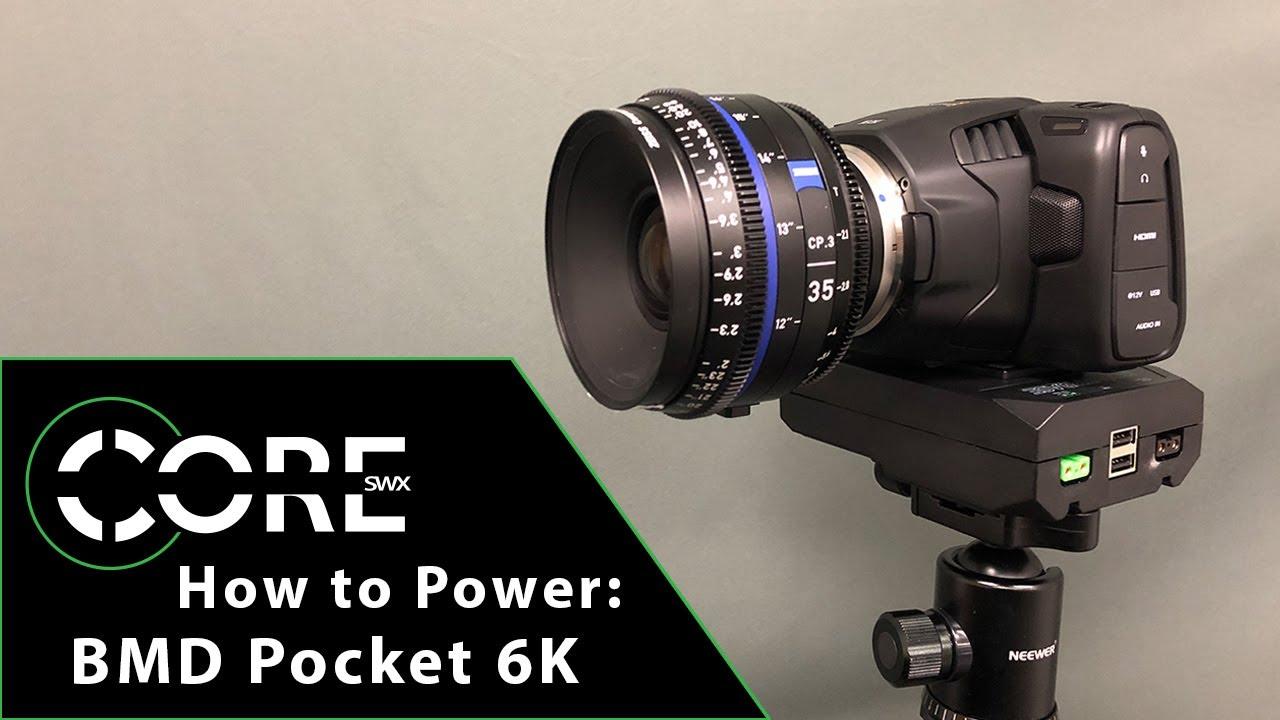 Blackmagic Design Pocket Cinema Camera 6k And Core Powerbase Edge Bundle Bmd Cinecampochdef6k Pbe