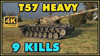 World of Tanks | T57 Heavy - 9 Kills - 9.1K Damage