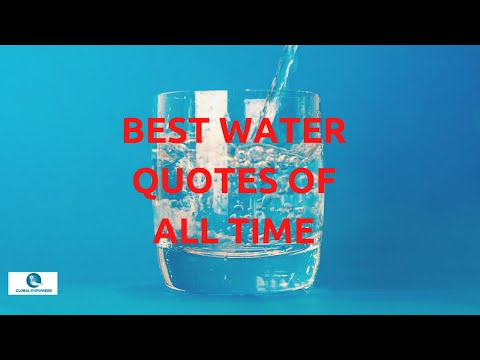 Inspirational Water Quotes