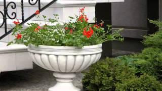 Шикарное украшение вашего сада - уличные вазоны для цветов(В нашем видео использованы прекрасные фото уличных вазонов с сайта http://www.sadymira.ru/ Гуляя по парку или саду..., 2014-09-05T10:13:46.000Z)