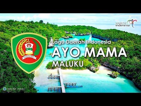 Ayo Mama Lagu Daerah Maluku Dengan Lirik Youtube