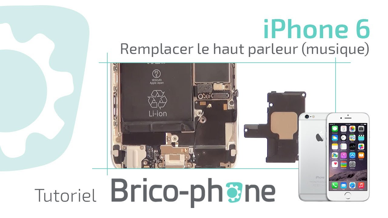 Changer Le Haut Parleur Iphone