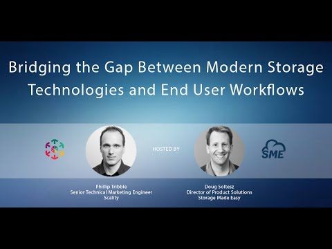 Webinar: Secure Enterprise File sharing and Collaboration for Scality S3 Object Storage