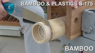 Japanese handsaw/ ZETSAW Bamboo & Plastics s-175
