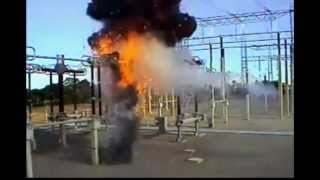 Взрыв трансформатора тока 420 кВ (The explosion of the current transformer 420 kV)(, 2015-10-23T09:00:00.000Z)