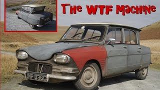 Citroen Ami 6 - The WTF Machine - take two!  Sound improved.