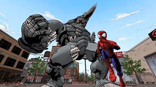 Ultimate Spider-Man All Cutscenes (Game Movie) Full Story HD