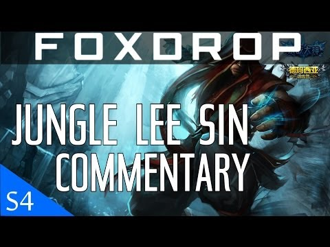 [Season 4] Diamond Jungle Lee Sin Gameplay Commentary | League of Legends