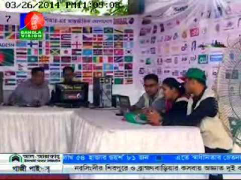 01. Rapid PR News on Bangla Vision (26.03.2014)