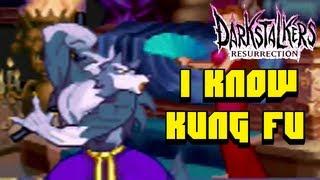 Darkstalkers Night Warriors - Kung Fu Werewolf - PS3 Online Gameplay