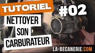 Nettoyage carburateur moto ou scooter - Tuto #02 - La Bécanerie