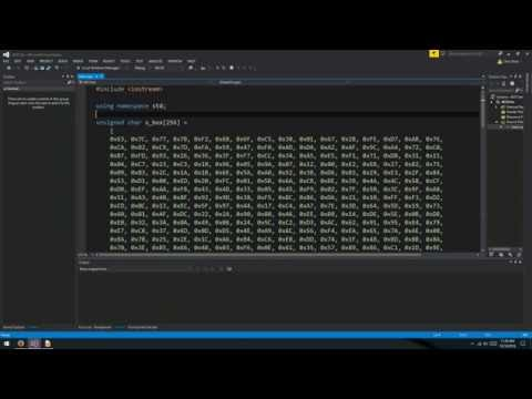 AES Encryption 5: Expand Keys and Encryption Flow