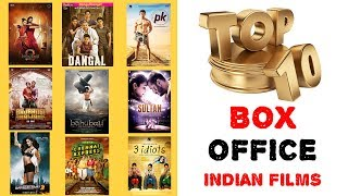 Top 10 box office (highest grossing) movies in india - baahubali 2 listed as 1st biggest grosser