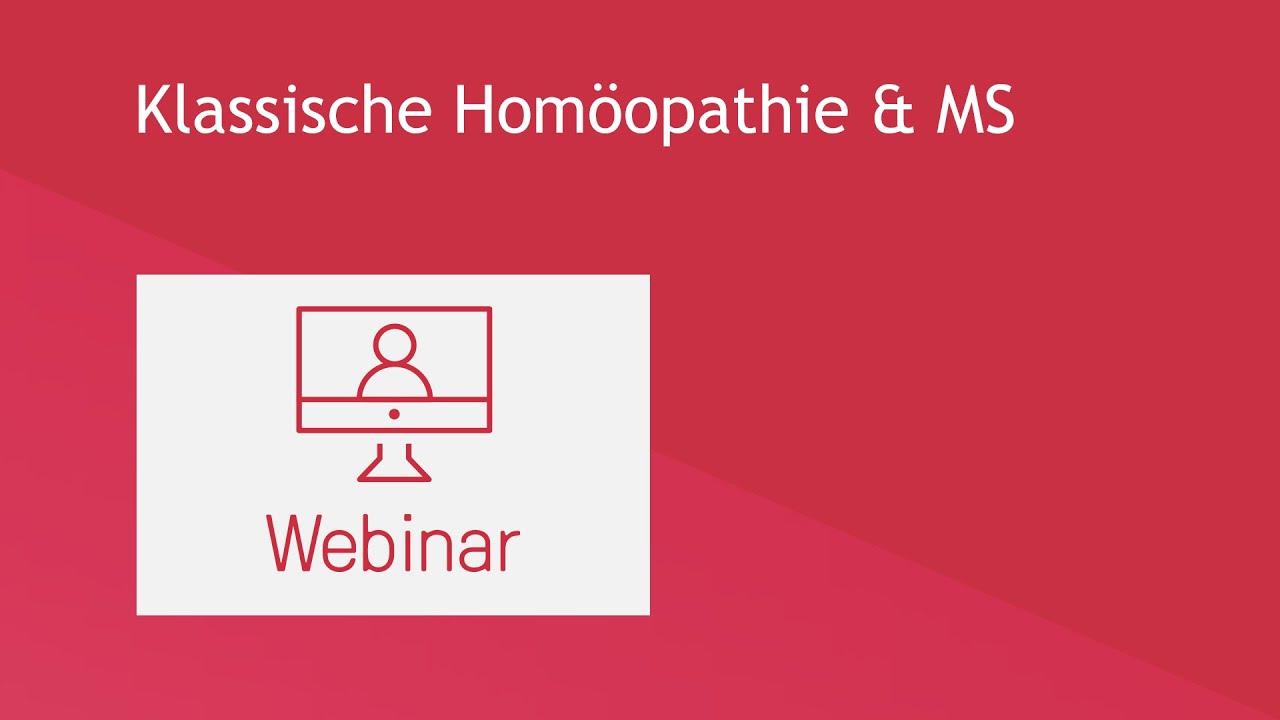 Klassische Homöopathie & MS