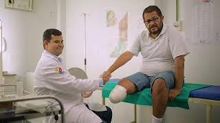 Da sintomas perna amputação após
